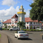 Clock Tower und Marketplace in Apia