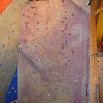 Wand überhängend mit Volumen