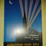 Einladung Schwabacher Goldschlägernacht