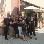 Ancolé-Helferream bei der Schwabacher Goldschlägernacht 2012