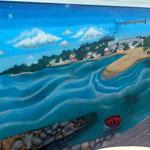 paisaje graffiti a coruña