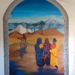 habitacion graffiti Murcia