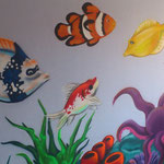 graffiti habitación infantil