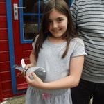 Marie und ihr DV-0530-13-0224 blauscheck Vogel
