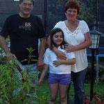 Marie & ihre Großeltern,Schrems.