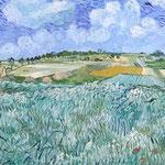 Vincent van Gogh: Ebene bei Auvers, 1890