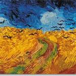 Vincent van Gogh: Weizenfeld mit Raben, 1890