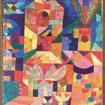Paul Klee: Burggarten, 1919