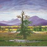 Caspar David Friedrich: Einsamer Baum, 1822
