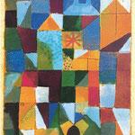Paul Klee: Städtische Komposition mit gelben Fenstern, 1919