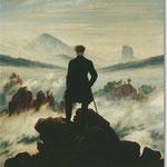 Caspar David Friedrich: Der Wanderer über dem Nebelmeer, 1818