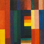 Johannes Itten: Horizontal - Vertikal, 1915   © VG Bild-Kunst, Bonn