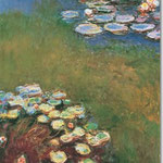 Claude Monet: Nympheas, 1914-17