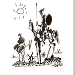 Pablo Picasso: Don Quichote, 1955   © 2012 Estate of Pablo Picasso/Artists Rights Society (ARS), New York
