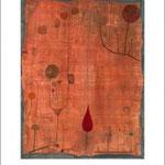 Paul Klee: Früchte auf Rot, 1930