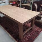 Table en chêne brut 2m long 91 cm larg