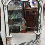 Ancien miroir art nouveau