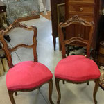 Anciennes chaise style Louis xv