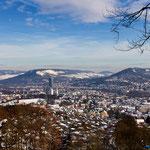 Jena, Blick vom Forst