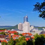 Jena, Skyline, Innenstadt, Jentower