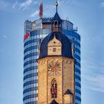 Jena, Uniturm, Jentower, Stadtkirche