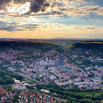 Jena, Ballon-Fahrt über Jena