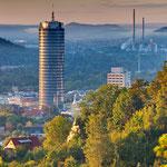 Jena, Sonnenaufgang am Landgraf