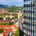 Jena, Bick vom B59 auf den Jentower