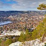 Jena, Blick von den Kernbergen auf Jena