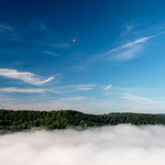Ballonfahrt über dem Nebelmeer