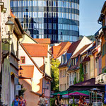 Jena, Wagnergasse und Jentower
