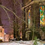 Jena, Johannisfriedhof im Winter