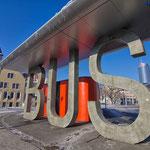 Jena, Busbahnhof, BUS
