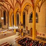 Jena, Stadtkirche zu Weihnachten