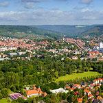 Blick von den Kernbergen auf Jena