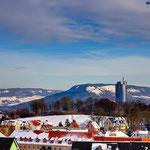 Jena, Blick auf den Friedensberg