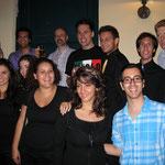 Unser italienischen Freunde Vivae Vocis Concentus und die King's Singers
