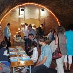Im Keller zum Biblischen Mahl