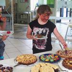 Kuchen in Hülle und Fülle