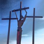 Jesus am Kreuz - ist Jesus gescheitert? Drei Kreuze - das Ende im Kampf um Freiheit?