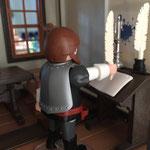 Luther am Schreibpult