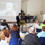 Jens Fabich, Pastor der Adventgemeinde Chemnitz, mit den Gedanken zum Tag