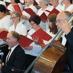 Orchester der Evangelischen Kirche Drehbach und großer Chor der Adventgemeinden