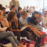 Aufmerksame Zuhörer - wie in der Schule?
