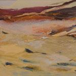 200 Wüstenlandschaft, Acryl auf Leinwand, 30x40cm