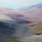 2018 Vulkanwanderung, Acryl auf Leinwand 60x70cm