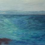 2016  Adios La Graciosa, Acryl auf Leinwand  70x110cm