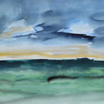 2003  Morgenstimmung  Aquarell auf Papier 30x40cm