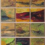 2013 Komposition, Acryl auf Leinwand  80x60cm