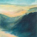 2014 Weitblick,Oel auf Leinwand 70x50cm